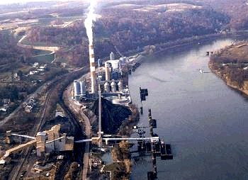 "Hatfield Ferry Picture - The ""dirtiest"" coal-fired power plant in the USA"