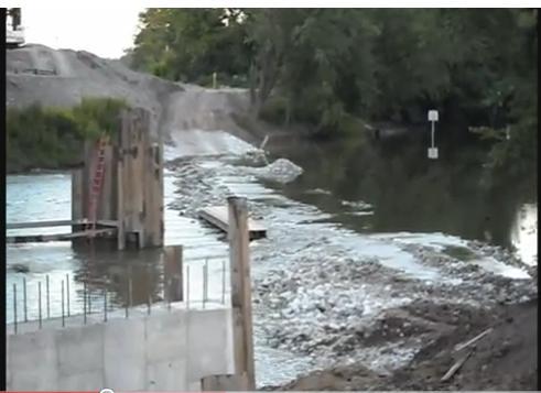 Maumee River - FLOODPLAIN AREA - DO NOT MOVE DIRT