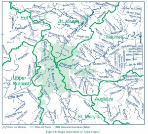 6 Watersheds in Allen County