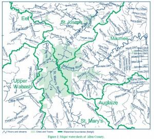6 Watersheds in Allen County